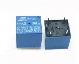 Реле SRD-05VDC-SL-C  катушка 5вольт 5pin