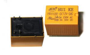 Реле HK4100F-12В-SHG  катушка 12вольт 6pin