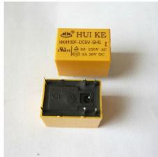 Реле HK4100F-24V-SHG  катушка 24вольт 6pin