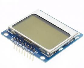 ЖК-Модуль Nokia 5110 Белый