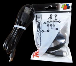 """USB Кабель """"Mi-Digit"""" USB Type C Черный"""