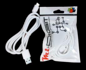 "USB Кабель ""Mi-Digit"" USB Type C Белый"