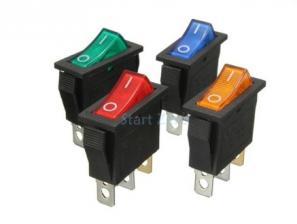 Тумблер RCD3  3 pin ON-OFF 15a 250v  Желтый